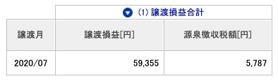 2020-07 源泉徴収税額